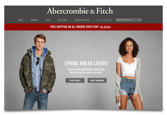 abercrombie and fitch brand positioning Abercrombie & fitch has undergone a massive rebrand in the past few years has the new direction benefitted the recent collections we explore.