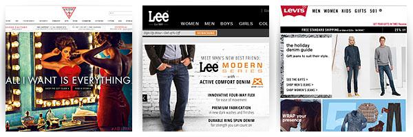 Guess, Levi's, Lee Jeans - доставка из США