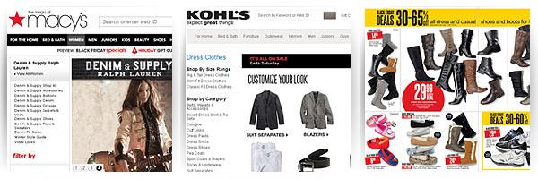 Kohl's, Macy's - доставка из США