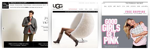 Saks Fifth Avenue, UGG, Victoria's Secret - доставка из США